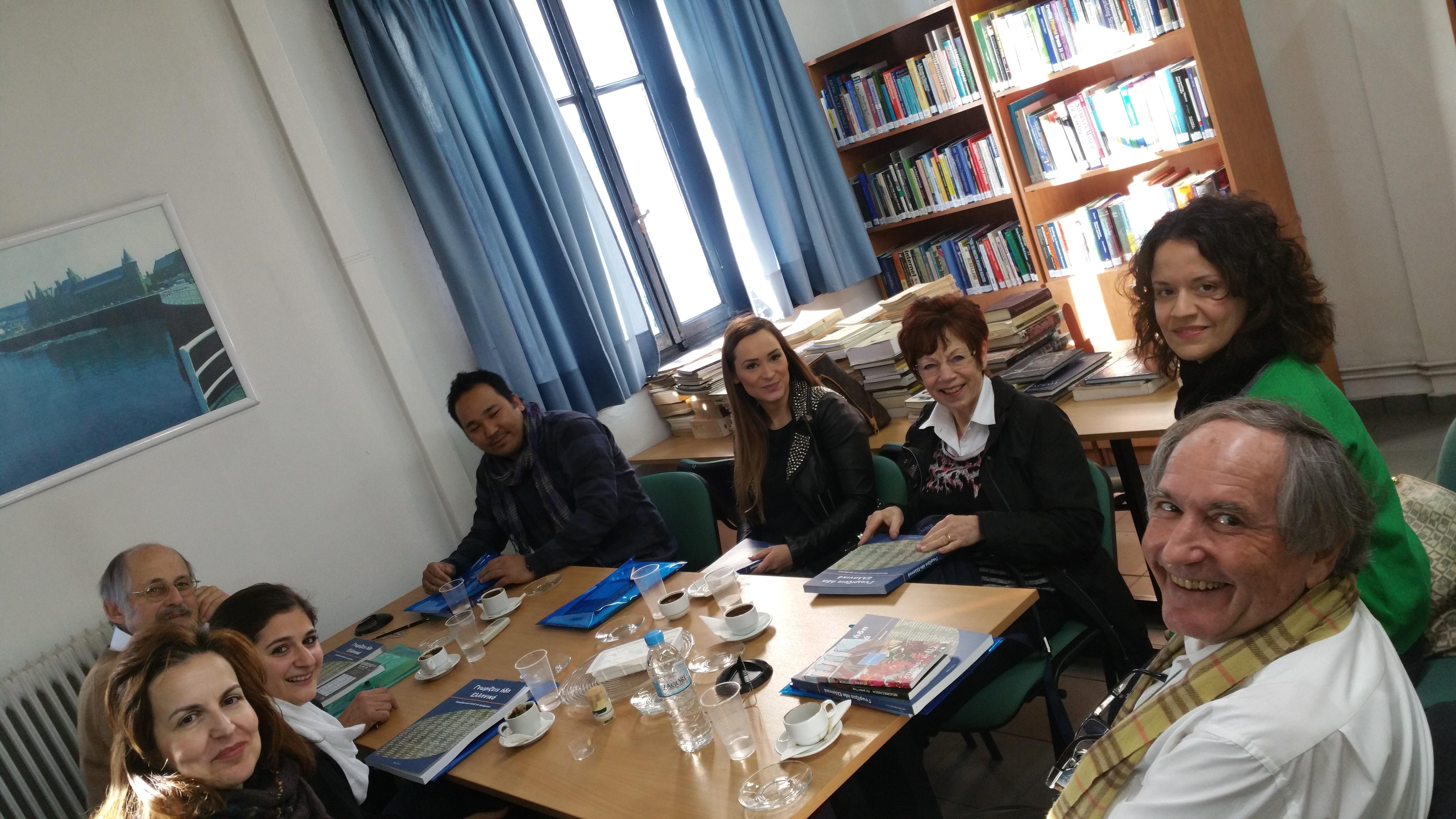 Παρουσίαση της ιστορίας της ελληνικής γλώσσας στους μαθητές μας