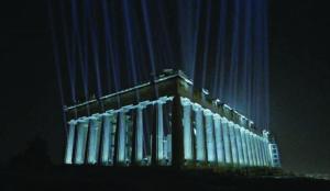 Ο νέος φωτισμός της Ακρόπολης με τη χορηγία του Ιδρύματος Ωνάση
